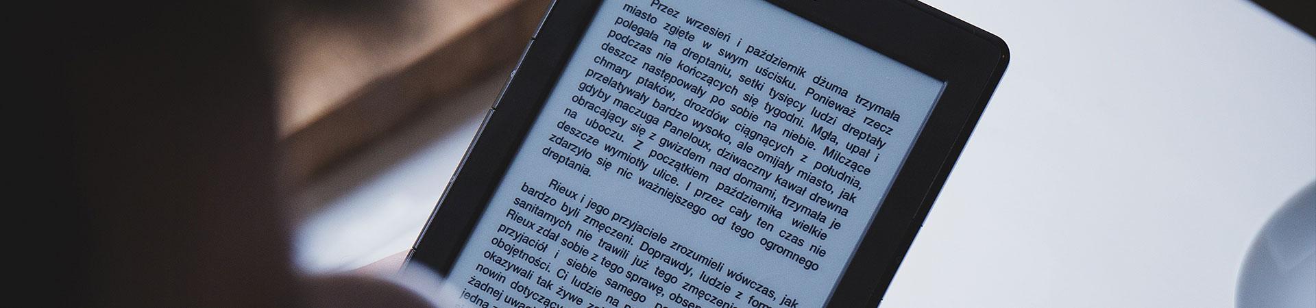 Apps para lectura de e-Books